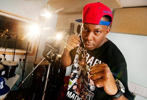 Rapper Dizzee Rascal